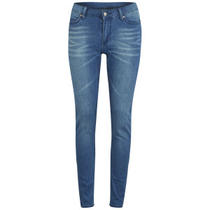 Cheap Monday Women's 'Second Skin' High Waisted Skinny Jeans - Whispy Blue
