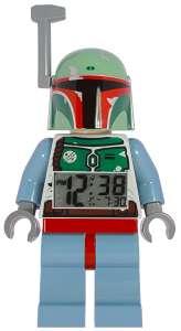 LEGO® Star Wars™ Boba Fett Minifiguren-Uhr mit Wecker