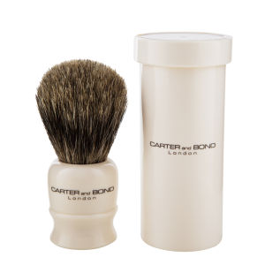 Carter and Bond Shaving Brush with Travel Case