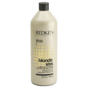 Redken Blonde Idol Shampoo (1000ml) con pompa - (al costo di £ 45.50)