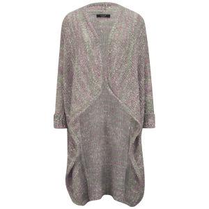 VILA Women's Vifrenn Cardigan - Light Grey