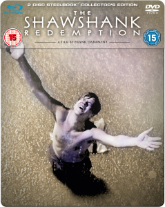 The Shawshank Redemption - Steelbook Edition (Blu-Ray and DVD)