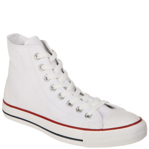 Converse Unisex Hi-Top Trainers - Optical White