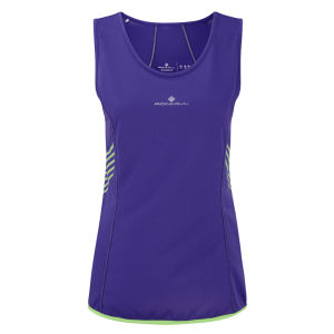 RonHill Women's Aspiration Vest - Plum/Fluorescent Green
