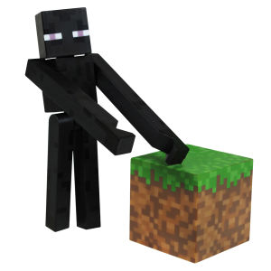 Figurine Enderman Minecraft – 7 cm