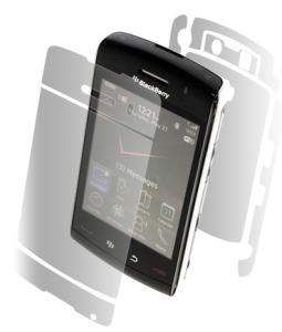 ZAGG - Invisible Shield for Blackberry Storm 2 9520/9550 - Full Body