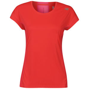 New Balance Women's Ice Short Sleeve T-Shirt - Pink