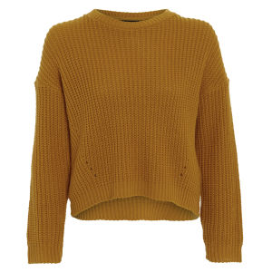 Damned Delux Women's Cesca Knitted Jumper - Mustard Gold