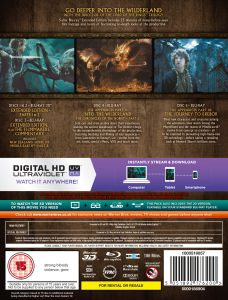 Buy The Hobbit: The Desolation of Smaug (Extended Edition ...