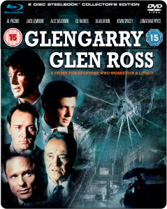 Glengarry Glen Ross - Steelbook Edition (Blu-Ray and DVD)