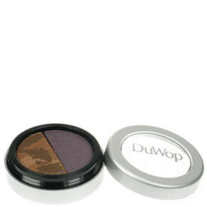 Duwop Brown Eyecatcher Shadow - Matte Violet/Marbled Gold Shimmer