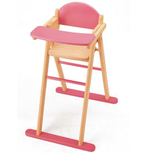 Pintoy Wooden Dolls High Chair