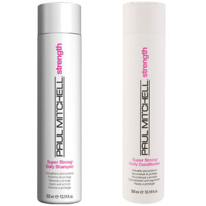 Duo Super Strong de Paul Mitchell- Champô e Condicionador