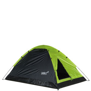 Gelert Monodome 2 Tent - Lime/Charcoal