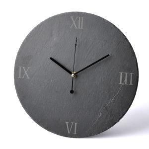 Natural Living Slate Clock
