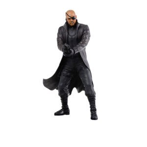 Figurine Nick Fury  Heroes Marvel Captain America