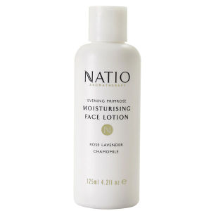Natio Evening Primrose Moisturising Face Lotion -kosteuttava kasvovoide (125ml)