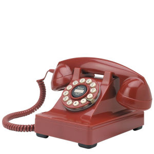 Series 302 Telephone - Red
