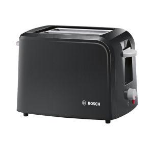 Bosch TAT3A013GB Vintage 2 Slice Toaster - Black