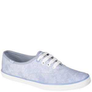 Keds Women's Champion Oxford Pumps - Faded Blue