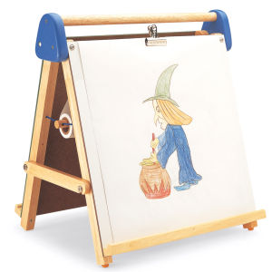 Pintoy Tabletop Magnetic Easel and Chalkboard