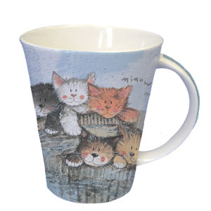 Alex Clark Flirt Mug Kittens (370ml) - Multi