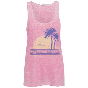 Brave Soul Women's Beach Vest - Pink