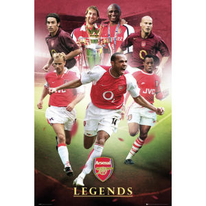 Arsenal Legends - Maxi Poster - 61 x 91.5cm