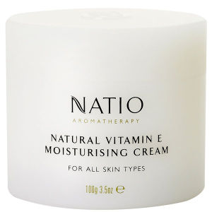 Natio Natural Vitamin E Moisturising Cream -voide (100g)