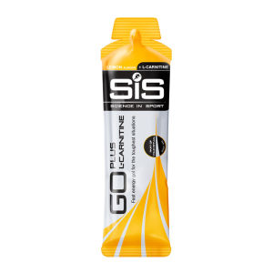 Science in Sport Go + L-Carnitine Energy Gel 60ml - Box of 30