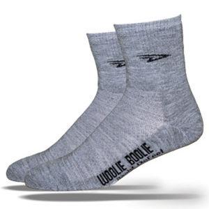 DeFeet Woolie Boolie 2 4 Inch Cuff Socks - Grey