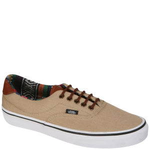 Vans ERA 59 Canvas and Leather Trainers - Khaki / Gaute