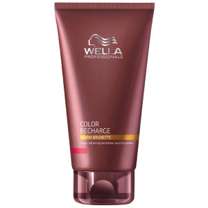 Acondicionador Wella Professionals Color Recharge Warm Brunette 200 ml