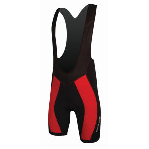 Endura FS260 Pro Bib Shorts (600 Series Pad) - Red
