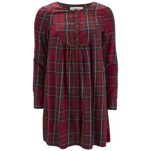 Vero Moda Women's Channet Tartan Smock Dress - Jester Red