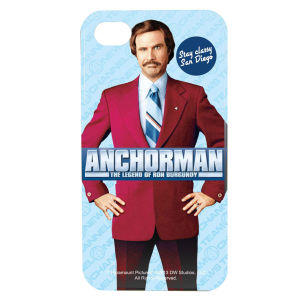 "Carcasa móvil ""Anchorman Ron Burgundy"" para iPhone 4/4S"