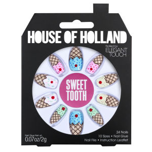 House of Holland Nails Created by Elegant Touch - Sweet Tooth