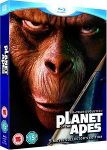 The Planet Of The Apes - 5 Movie Collectors Edition