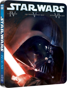 Star Wars Original Trilogy - Limited Edition Steelbook
