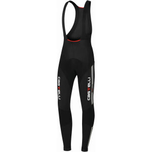 Castelli Sorpasso Bib Tights - Black/Reflex