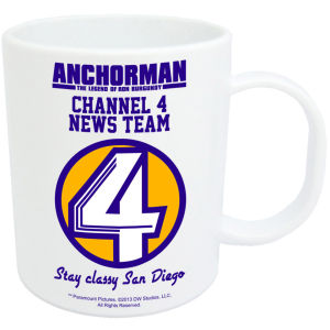 Anchorman Channel 4 News Team Mug
