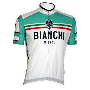 Bianchi Cianciana Short Sleeve Jersey - White/Celeste