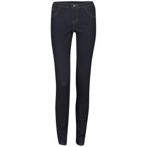 VILA Women's Cleave 5 Pocket Jeans - Dark Indigo