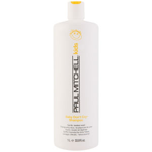 Paul Mitchell Baby Dont Cry Shampoo (1000ml) - (verdt £34,00)