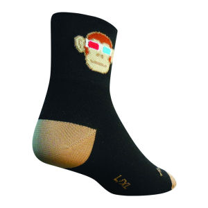 Sockguy Monkey See 3D Cycling Socks