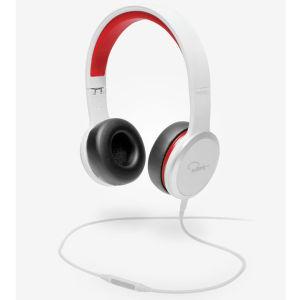 Wesc Rza Street Headphones - Red/White