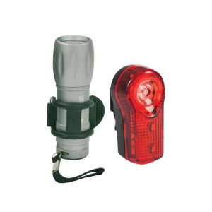 Oxford 1w Front and 0.5w Rear LED Light Set