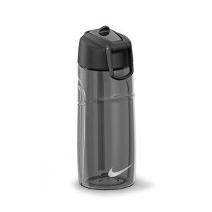 Nike T1 Flow Water Bottle 16oz - Anthracite/Black