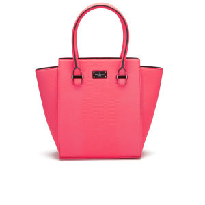 Paul's Boutique Mila Tonal Snake Tote Bag - Coral