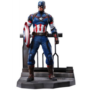 Dragon Action Heroes Marvel Age of Ultron Captain America Vignette
